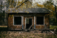 Classic evil dead zombie house Royalty Free Stock Photography