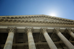 Classic facade Stock Images
