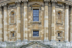 Classic facade in oxford, england Stock Photos