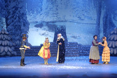 Classic fairy tale dramas Stock Image