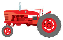 Classic Farm Tractor Stock Photo
