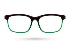 Classic Fashion eyeglasses style isolated on white background. Royalty Free Stock Photo