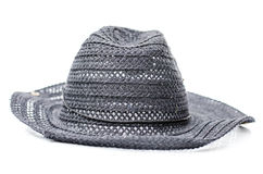 Classic fedora style hat isolated Royalty Free Stock Photos