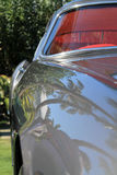 Classic ferrari front fender detail Royalty Free Stock Images