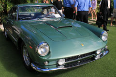 Classic Ferrari front quarter view close up Royalty Free Stock Photography