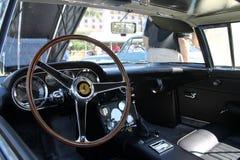 Classic Ferrari interior details Royalty Free Stock Image