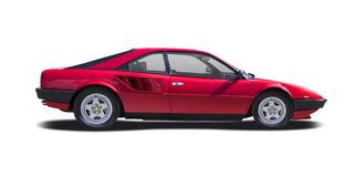 Classic Ferrari Mondial Royalty Free Stock Photos