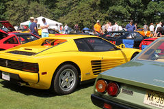 Classic ferrari outdoor event Royalty Free Stock Photos