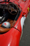 Classic Ferrari race car. Royalty Free Stock Images