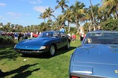 Classic ferrari sports cars Royalty Free Stock Images
