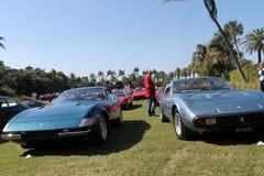 Classic ferrari sports cars Royalty Free Stock Image