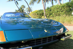 Classic ferrari sports cars popup headlamps Stock Images