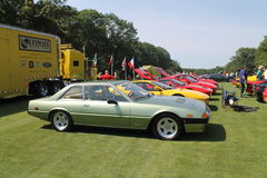 Classic ferrari sports grand tourer Royalty Free Stock Images