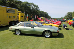 Classic ferrari sports grand tourer Stock Image