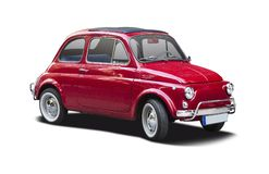 Classic Fiat 500 Royalty Free Stock Photos