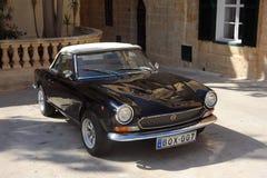 Classic Fiat sports car Stock Image