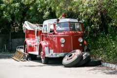Classic Fire Truck Royalty Free Stock Images