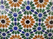 Classic Floor tiles pattern stock image
