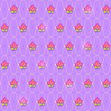 Classic Floral Pattern Seamless Stock Photo