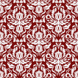 Classic floral pattern Stock Photography