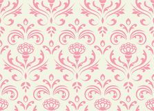 Classic floral seamless background. Stock Images