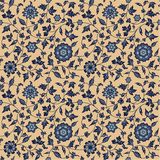 Classic Floral Seamless Pattern Stock Images