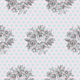 Classic Floral Seamless Pattern Stock Image
