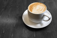 Classic foamy cappuccino Royalty Free Stock Photo
