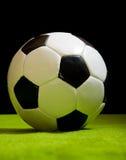Classic football ball Royalty Free Stock Image