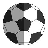 classic football icon Stock Images