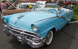 Classic 1956 Ford Automobile Royalty Free Stock Images