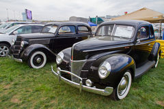 Classic Ford Automobiles Stock Image