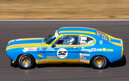 Classic Ford Capri race car. Photographed during Histocup event at Slovakia Ring on August 3, 2013 Stock Image