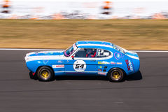 Classic Ford Capri race car stock images