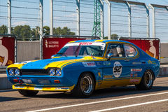 Classic Ford Capri race car Royalty Free Stock Photo