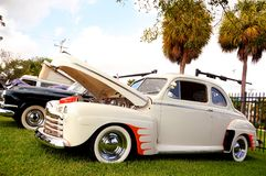 Classic 1946 Ford Deluxe Stock Image