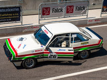 Classic Ford Escort race car Royalty Free Stock Photography