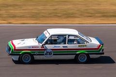 Classic Ford Escort race car Stock Image