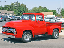 Classic Ford F-100 Stock Photos