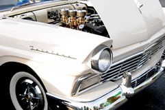 Classic ford fairlane front end Stock Photography