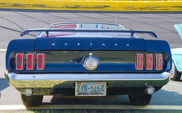 Classic 1969 Ford Mustang Automobile Royalty Free Stock Photos
