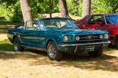 Classic Ford Mustang car Stock Photo