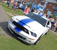 Classic ford shelby mustang cobra car Royalty Free Stock Image