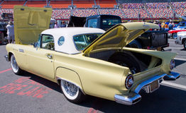 Classic 1957 Ford Thunderbird Automobile Stock Photos
