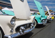 Classic Ford Thunderbird Automobiles Royalty Free Stock Photos