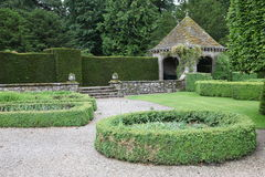 Classic formal english garden Royalty Free Stock Photos