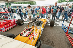 Classic Formula 1 royalty free stock photos
