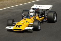 Classic Formula Ford racing car at speed Stock Photos