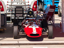 Classic formula race car. Photographed during Histocup event at Slovakia Ring on August 3, 2013 Stock Image