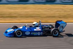 Classic formula race car. Photographed during Histocup event at Slovakia Ring on August 3, 2013 Stock Images